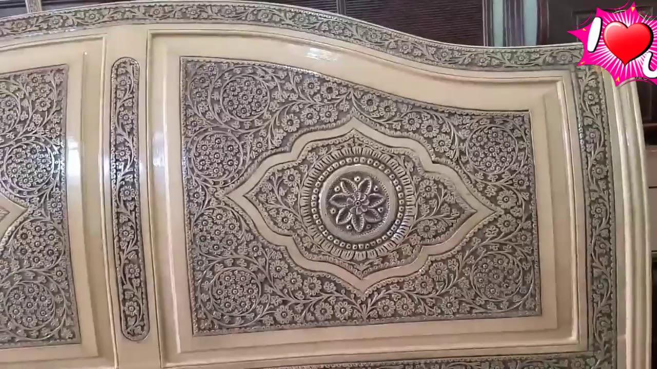 pakistan multani double bed in new design, ملتانی ڈبل بیڈ
