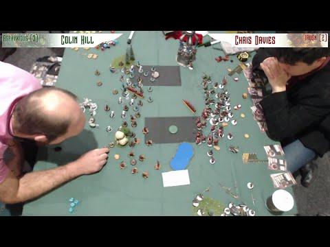 Wintercon Masters Semi Final Colin Hill vs Chris Davies