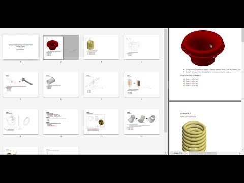 Hướng dẫn giải đề thi cấp chứng chỉ Quốc tế Autodeck Inventor