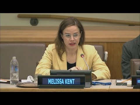 CBC's Melissa Kent speaks at UN on World Press Freedom Day