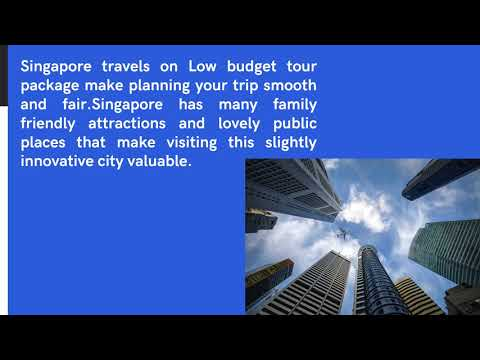 Singapore Holidays | Zewia Travel Holidays