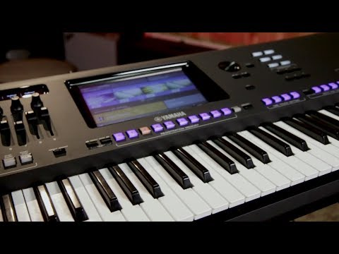 yamaha genos 76 key flagship arranger workstation youtube. Black Bedroom Furniture Sets. Home Design Ideas