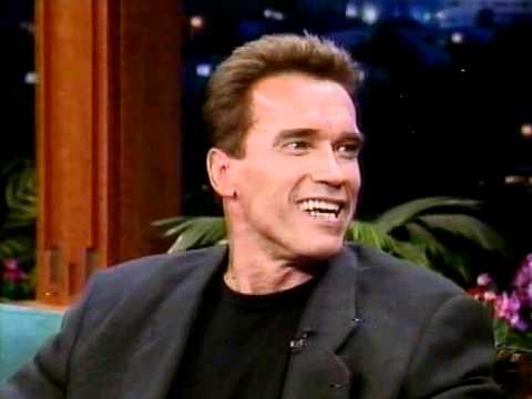 ARNOLD SCHWARZENEGGER INTERVIEW ON JAY LENO
