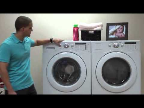 daewoo laundry suite 4 0 cuft washer amp 7 3 cuft dryer youtube rh youtube com Daewoo Dryer Manual Washer Dryer Appliances
