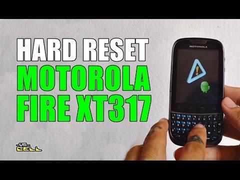 Hard Reset no Motorola Fire (XT317) #UTICell