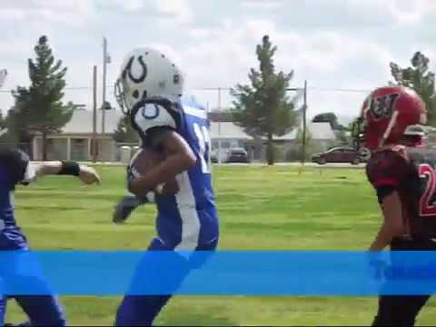 SV (Pee Wee) COLTS vs Willcox Cowboys 0n 30 SEPT 2017