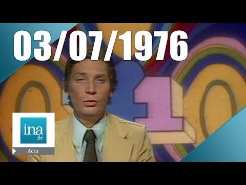 20h TF1 du 3 juillet 1976 - canicule sur la France | Archive INA