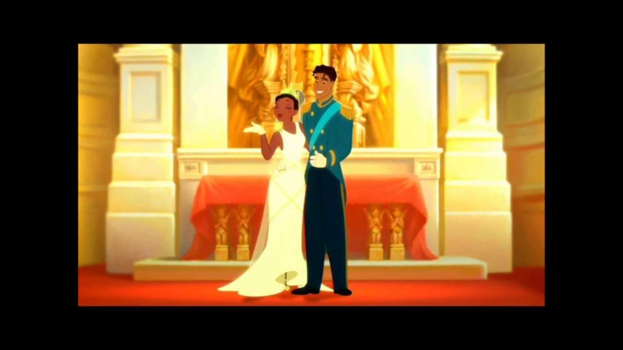 Tiana & Naveen (Princess & the Frog) - YouTube