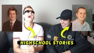 One of Dom Zeglaitis's most viewed videos: FUNNY HIGHSCHOOL STORIES 2! ft. David Dobrik