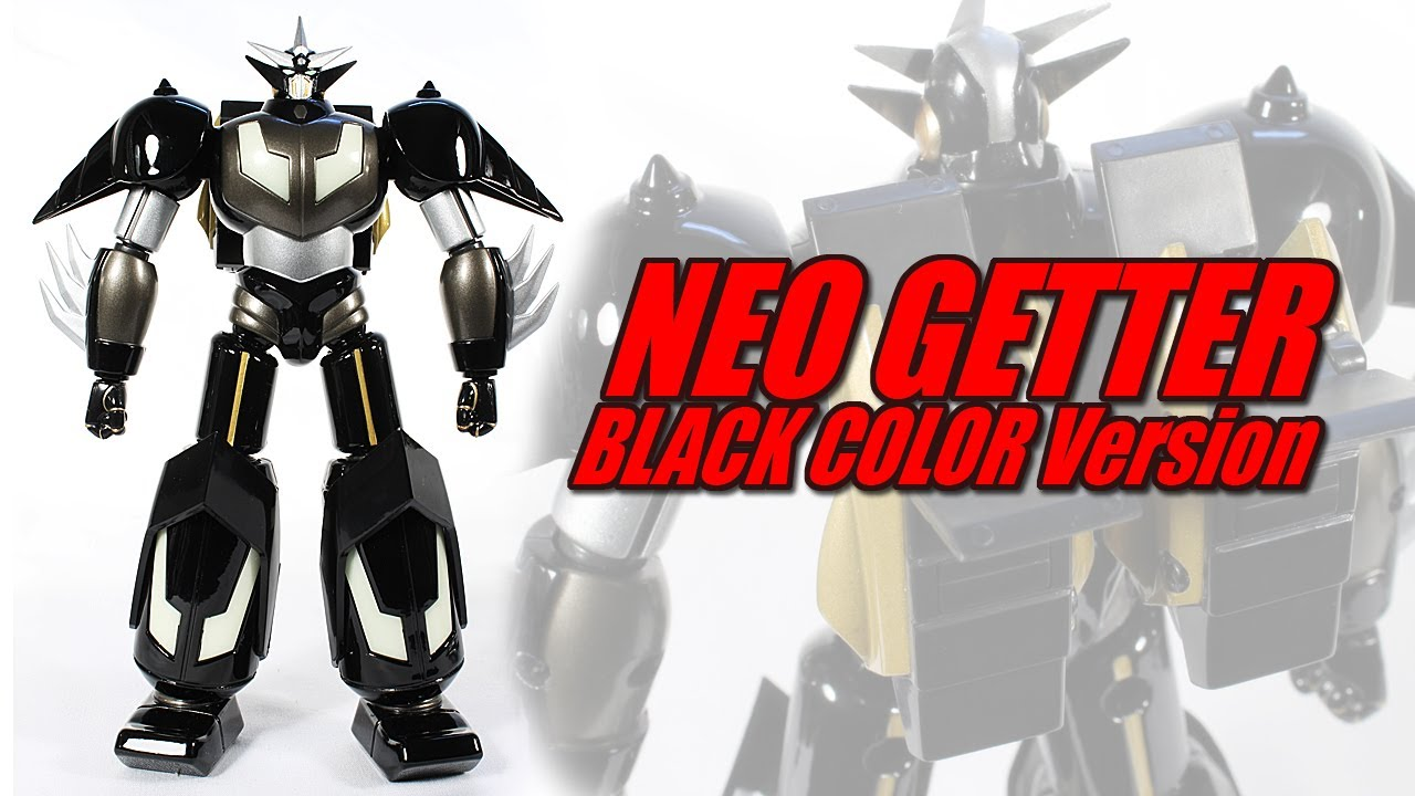 Aoshima neo getter 1 black version anime export le 1500 robot review