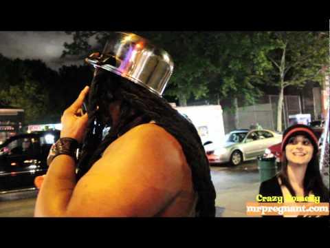 NEW YORK CITY - Man In Panties Walkathon - red victoria secret lingerie - 21( West 3rd St)