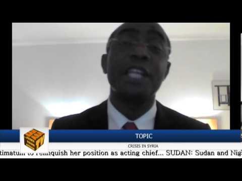 """""""Bashar al-Assad Should Step Aside"""" - Emmanuel Ogbunwezeh"""