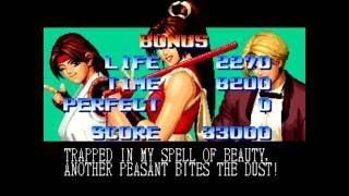 The King of Fighters '95 (Arcade) Playthrough as Womens Fighters Team