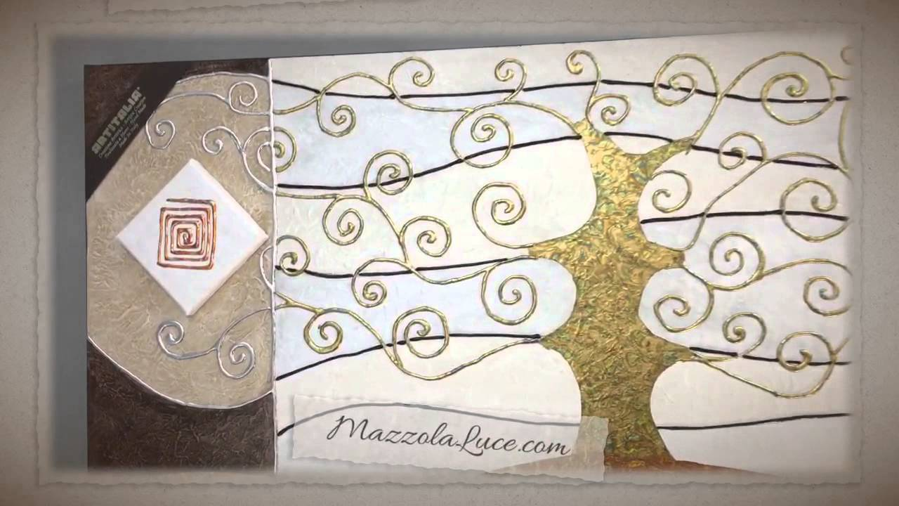 Quadro Albero Della Vita Stile Gustav Klimt Wwwmazzolalucecom