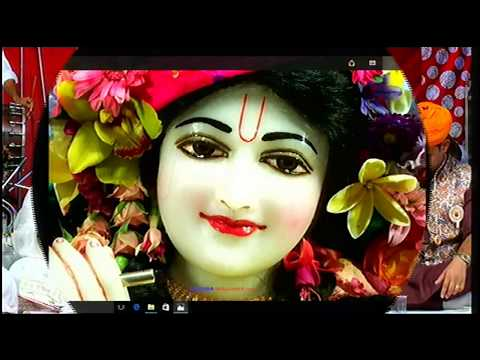 Ek Baar Humse Sanware Nazrein Milaye - Poonam Sadhvi Ji Live Bhajan, Barsane Wali | Sadhvi Ji Bhajan