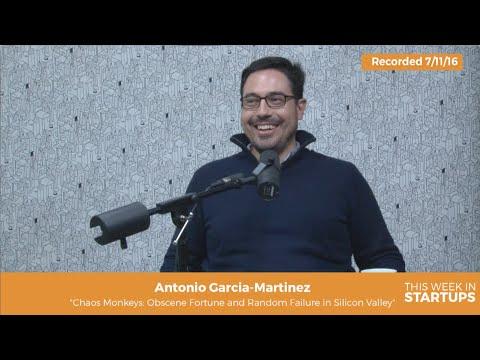 "Author Antonio Garcia Martinez of ""Chaos Monkeys"" on SV as a full contact sport"