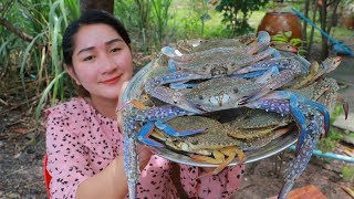 Tasty Blue Crabs Cooking Chives - Cooking With Sros