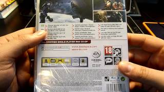 Dead Space 3 Unboxing (PS3)
