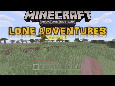 Minecraft: LONE ADVENTURES Ep.4: House Building!
