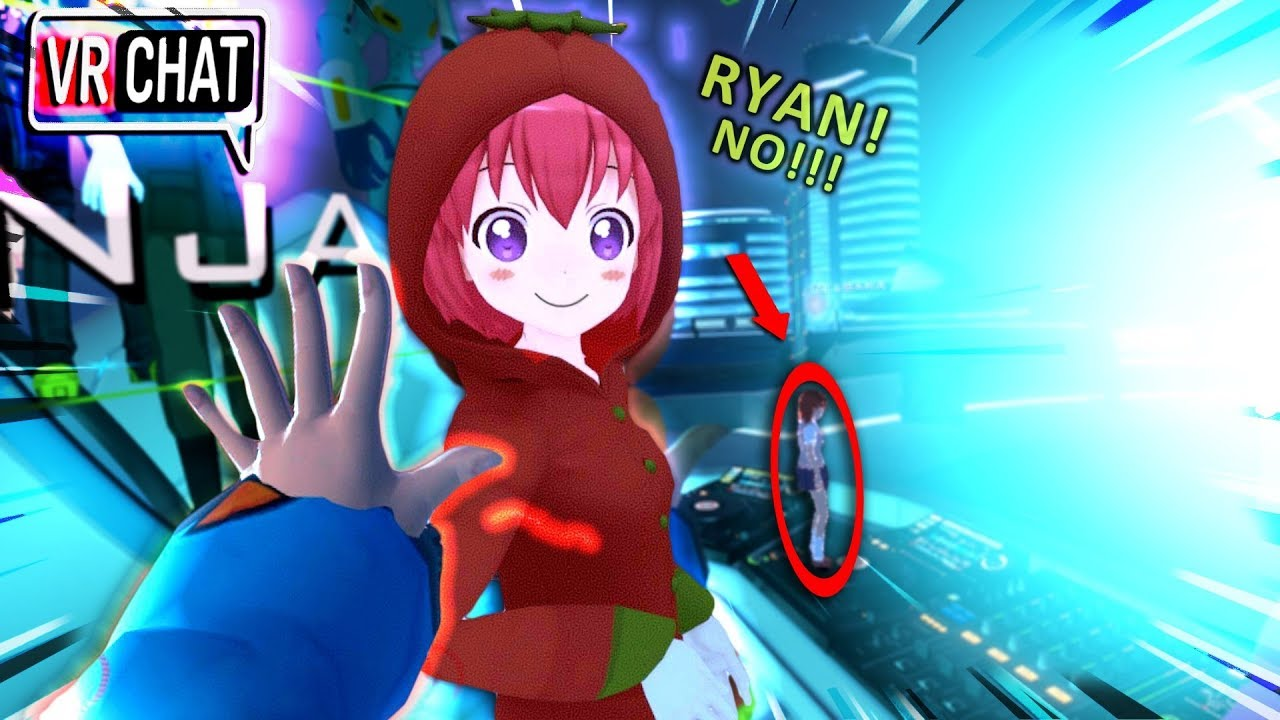 Saddest Anime Sacrifice RYAN LOOK OUT VRChat Funny Moments