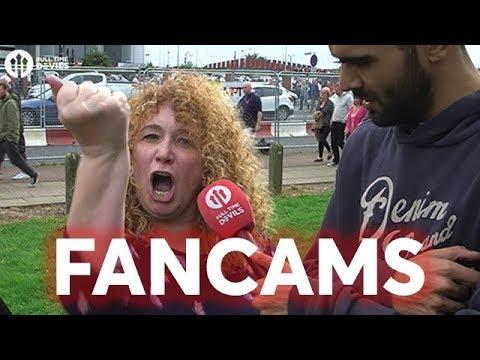 Manchester United 4-0 West Ham | FANCAMS