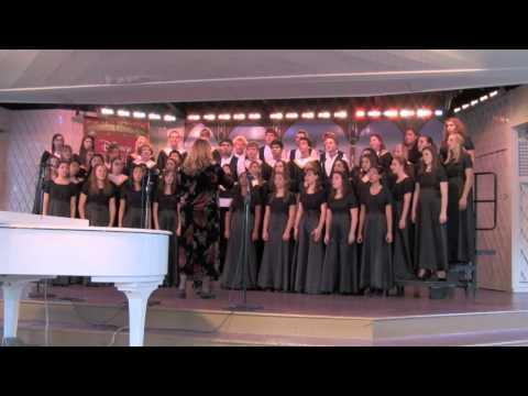 California High School Madrigal & Chamber Singers - Disneyland Performance