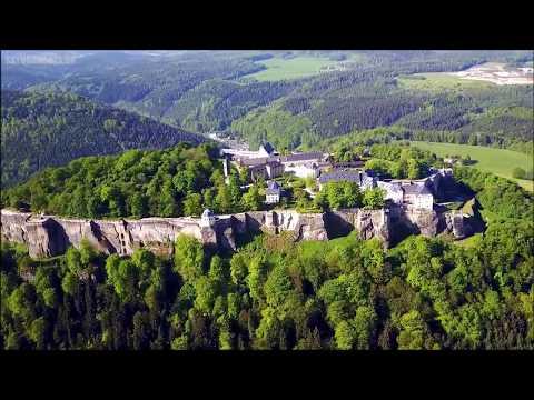 Fortress Königstein, near Dresden, Germany  -  Dji Mavic Pro drone -  Skydronauts
