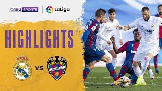 Real Madrid 1-2 Levante | LaLiga 20/21 Match Highlights