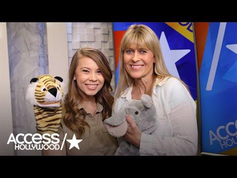 Bindi Irwin & Mom Terri Irwin Hilariously Explain Animal 'Facts' On 'Bindi's Jungle Show'