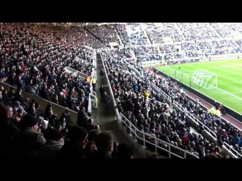Newcastle Fans @ St James Park - Hatem Ben Arfa Substitute