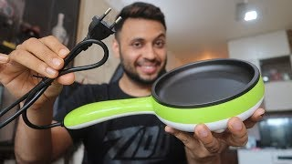 599 Rs ELECTRIC PAN Best for Bachelor 39 s and Hostel Students Unboxing amp Review