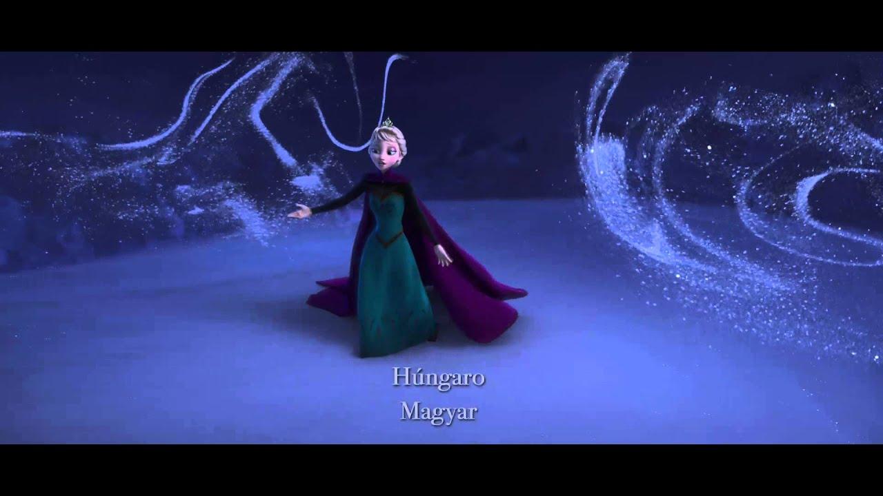 Frozen: Una Aventura Congelada - Libre Soy en 25 idiomas - YouTube