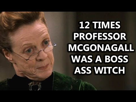 12 Times Professor McGonagall Was a Boss Ass Witch