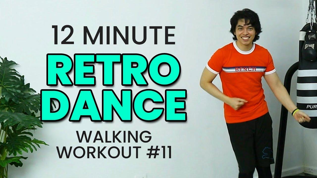 12 MIN HAPPY DANCE WORKOUT - Fat-burning • 1400 Steps • Walking Workout #11 • Keoni Tamayo