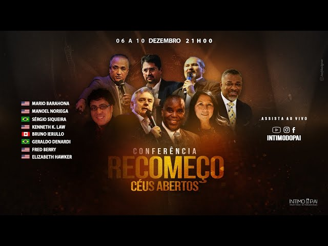 Conferência Recomeço - Pr. Manuel Noriega (EUA) - Live 09/12