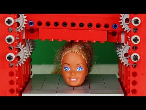 Lego Press vs Barbie Head and Other Things