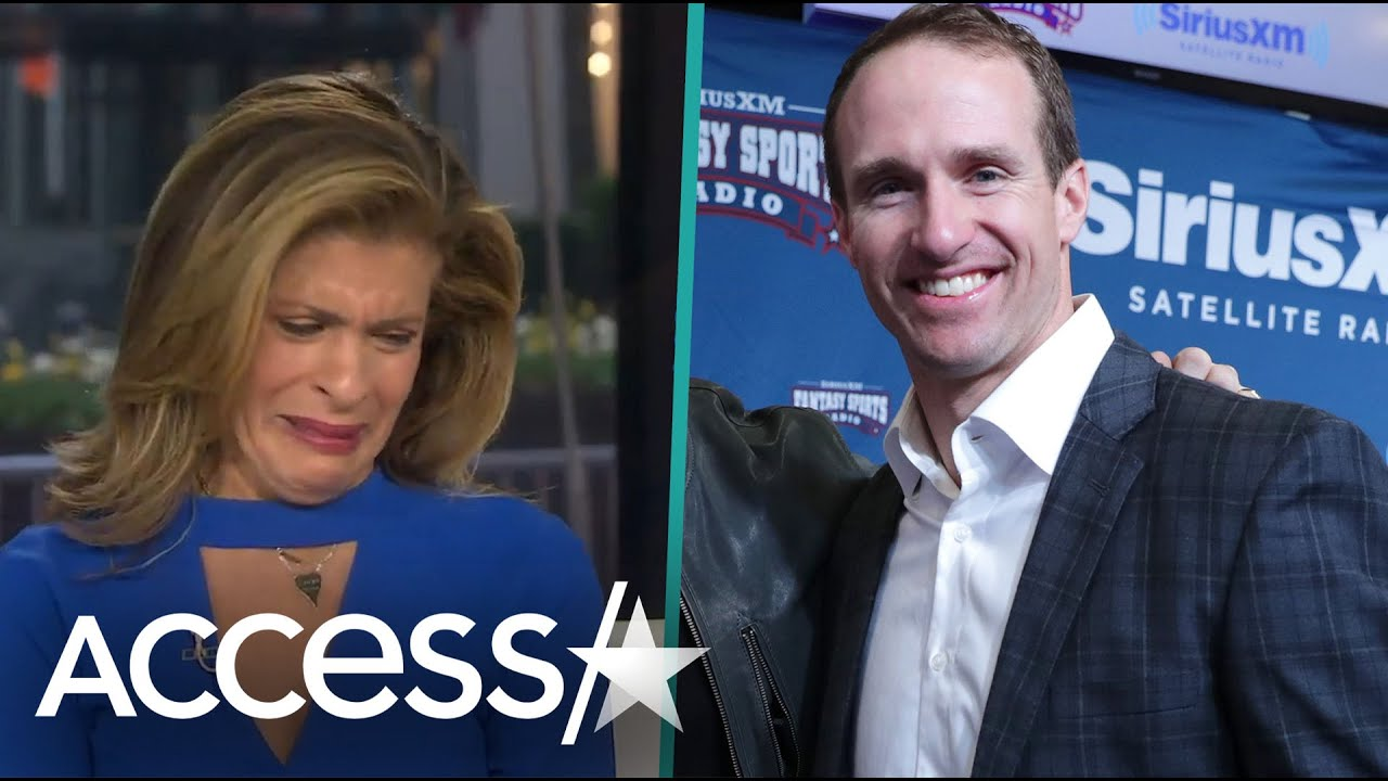 Photo of Hoda Kotb Breaks Down In Tears Over Drew Brees Donating $5M | Access