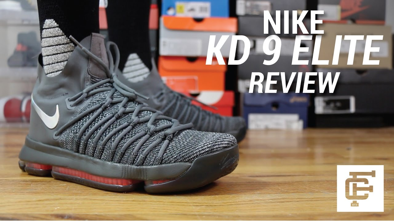 fa0a5e0109b9 NIKE KD 9 ELITE REVIEW - YouTube