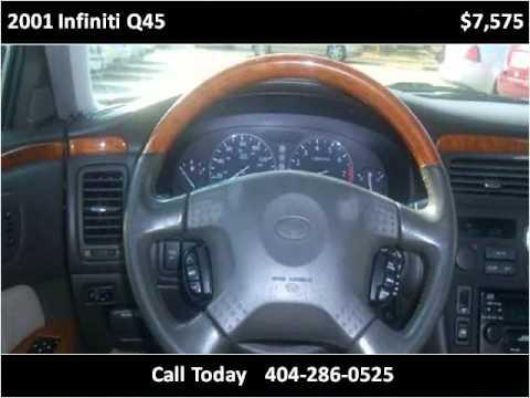 2001 Infiniti Q45 Used Cars Decatur Ga Youtube