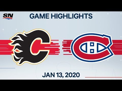 NHL Highlights   Flames vs. Canadiens – Jan. 13, 2020