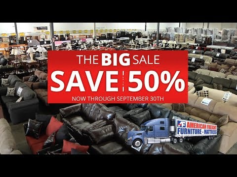 The Big Sale   Happening Now At American Freight Furniture And Mattress