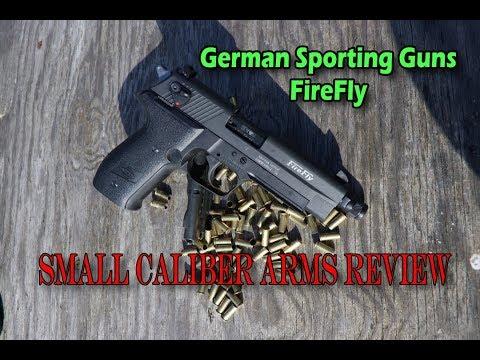 GSG Firefly, a great feeling fun filled .22 semi auto pistol