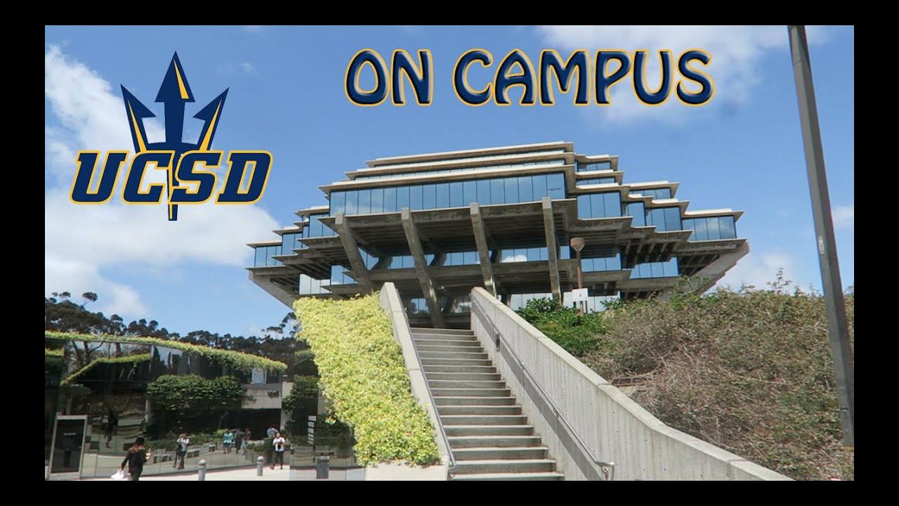 UCSD ON CAMPUS VISIT/TOUR !!