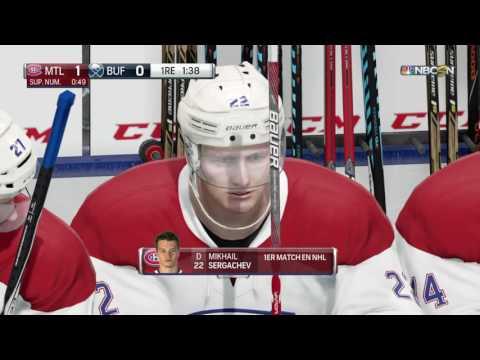 NHL® 17 Canadiens vs Sabres
