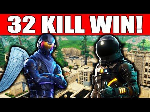 INSANE 32 KILL DUOS WIN w/ FaZe Blaze!! (Fortnite Battle Royale Gameplay)