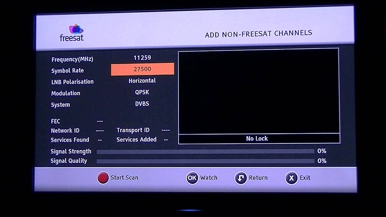 sagem freesat hd receiver how to tune in non freesat channels rh youtube com humax manual tuning humax manual tune winter hill