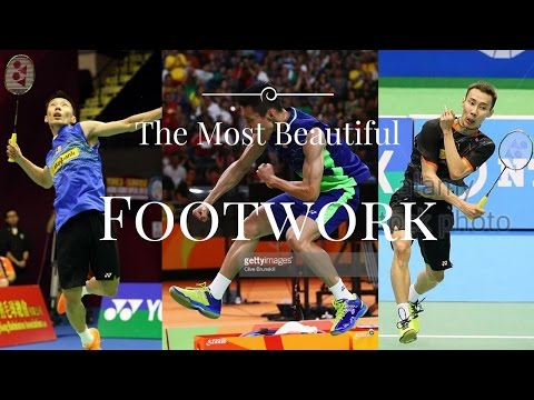 Lee Chong Wei - The Most Beautiful Footwork - The Best Footwork