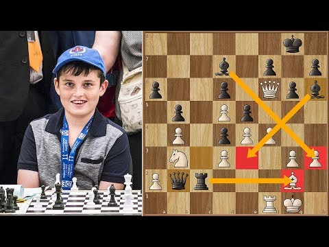 How To Crush Nakamura with the Black Pieces? 12-Year Old Alexander Shows us The Way