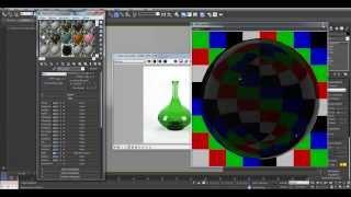 Уроки 3Ds Max. Vray материалы. Создание материала стекла