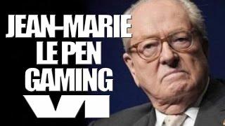 JEAN-MARIE LE PEN GAMING VI PRESIDENT SENILE